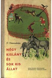 Négy kislány és sok kis állat - Régikönyvek