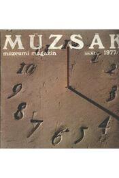 Múzsák Múzeumi Magazin 1977. évf. (hiányos) - Régikönyvek