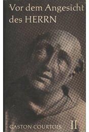 Vor dem Angesicht des herrn II. - Régikönyvek