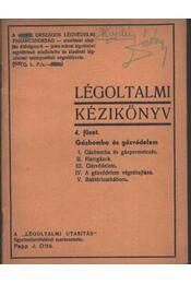 Légoltalmi kézikönyv 4. füzet - Régikönyvek