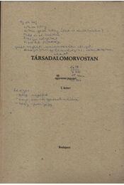 Társadalomorvostan I-III. kötet - Régikönyvek