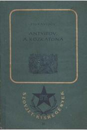 Antyipov, a közkatona - Régikönyvek
