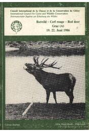 Rotwild (Vörös szarvas) - Régikönyvek