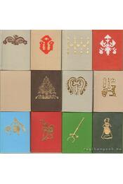 Békés megye néprajza 1-12. kötet (egészbőr) (mini) - Régikönyvek