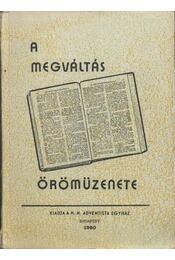 A megváltás örömüzenete - Régikönyvek