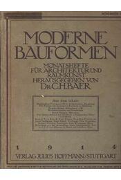Moderne Bauformen 1914 I-II. kötet - Régikönyvek