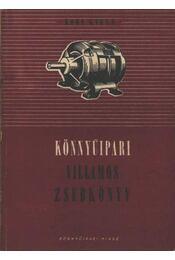 Könnyűipari villamos zsebkönyv - Régikönyvek