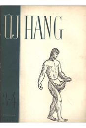 Új Hang 1956/3-4. sz. - Régikönyvek
