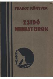 Zsidó miniatűrök - Régikönyvek