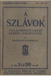 A szlávok - Régikönyvek