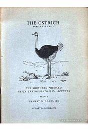 The ostrich (A strucc) - Régikönyvek