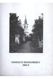 Somogyi honismeret 2001/2 - Régikönyvek