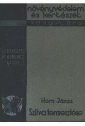 Szilva termesztése - Régikönyvek