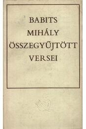 Babits Mihály összegyűjtött versei - Régikönyvek
