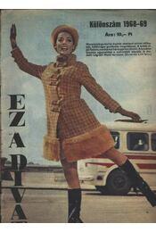Ez a Divat különszám 1968/69 - Régikönyvek