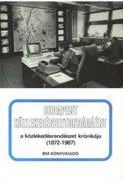 Budapest közlekedésbiztonságáért - Régikönyvek