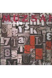 Múzsák Múzeumi Magazin 1978. évf. (teljes) - Régikönyvek