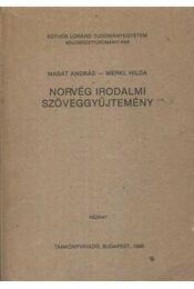 Norvég irodalmi szöveggyűjtemény - Régikönyvek