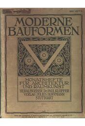 Moderne Bauformen 1910 - Régikönyvek