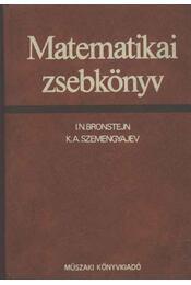 Matematikai zsebkönyv - Régikönyvek