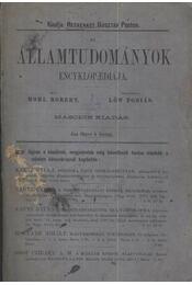 Az államtudományok encyklopediája - Régikönyvek
