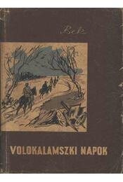 Volokalamszki napok - Régikönyvek