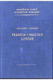 Francia-magyar szótár - Régikönyvek