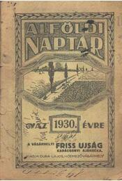 Alföldi Naptár 1930. - Régikönyvek