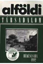 Alföldi társadalom 1992 - Régikönyvek