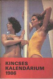 Kincses Kalendárium 1986. - Régikönyvek