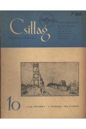 Csillag 10. 1948 szeptember II. évfolyam - Régikönyvek