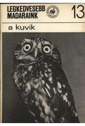 Legkedvesebb madaraink 13. a kuvik - Régikönyvek