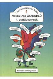 Nyelvtani gyakorló 4. osztályosoknak - Régikönyvek