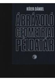 Ábrázoló geometriai példatár - Régikönyvek