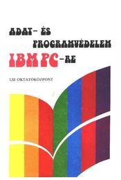 Adat- és programvédelem IBM PC-re - Régikönyvek