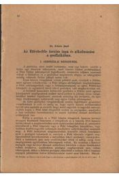 Az Eötvös-féle torziós inga és alkalmazása a geoizikában - Régikönyvek
