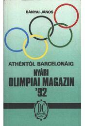 Nyári olimpiai magazin '92 - Régikönyvek