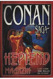 Conan Saga II. évfolyam 2.szám 1990. május - Régikönyvek