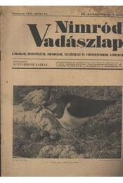 Nimród Vadászlap 1948. ápr. 15. - Régikönyvek
