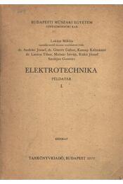 Elektrotechnika példatár I. - Régikönyvek