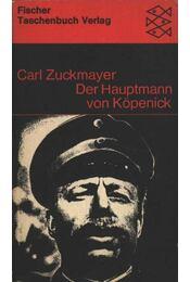 Der Hauptmann von Köpenick - Régikönyvek
