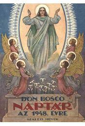 Don Bosco Naptár az 1948. évre - Régikönyvek