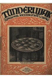 Tündérujjak 1930. augusztus 8. szám - Régikönyvek