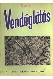 Vendéglátás I. évfolyam 2. szám 1957. október - Régikönyvek