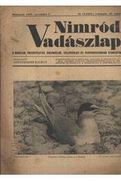 Nimród Vadászlap 1947. nov. 1. - Régikönyvek