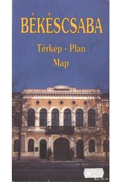 Békéscsaba (térkép) - Régikönyvek