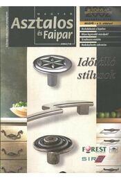 Magyar Asztalos és Faipar 2002/10. - Régikönyvek
