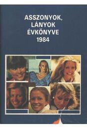 Asszonyok lányok évkönyve 1984 - Régikönyvek
