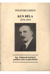 Kun Béla 1878-1954 - Régikönyvek
