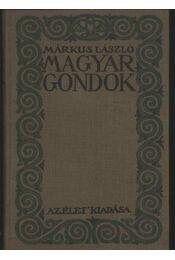 Magyar gondok - Régikönyvek
